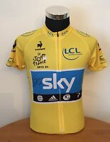 SIGNED SIR BRADLEY WIGGINS 2012 TOUR DE FRANCE YELLOW JERSEY WITH PROOF & COA
