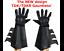 BATMAN-The-Dark-Knight-Rises-costume-cowl-cape-gloves-REAL-black-utility-belt thumbnail 2