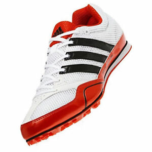 Details about ADIDAS Techstar Allround 2 Track Spikes Shoes White Orange Black New Mens Sz 11