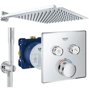 Gut gemocht Grohe Grohtherm SmartControl Thermostat Unterputz Duscharmatur Set ES16