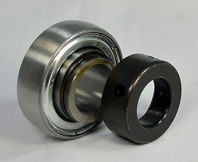 "SA208-24 1-1//2/"" Bore Spherical Insert Bearing with Locking Collar JD9202"