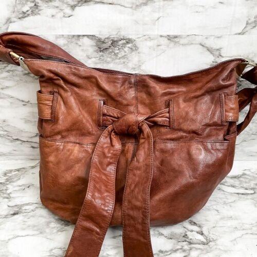 Kooba 'Devin' Tie Front Leather Bag