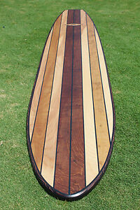 7ft Wood Surfboard Longboard Wall Art Beach Art Gifts For