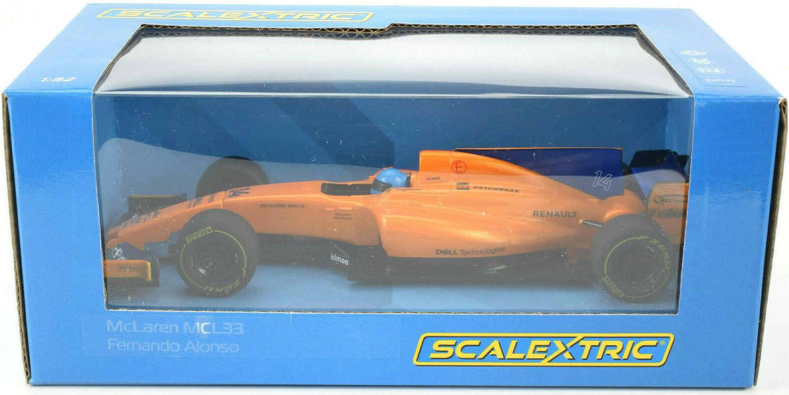 Scalextric McLaren MCL33 - Fernando Fernando Fernando Alonso DPR 1 32 Formula 1 F1 Slot Car C4022 79a9be