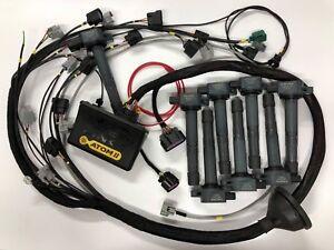 Link ecu g4 atom ii 1uzfe 1uz fe 1uz kit with wiring loom k20 image is loading link ecu g4 atom ii 1uzfe 1uz fe publicscrutiny Images
