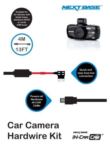 Car Dash Cam Camera112 212 312 402G 412 512 512 GW Hard Wire Kit For Nextbase UK