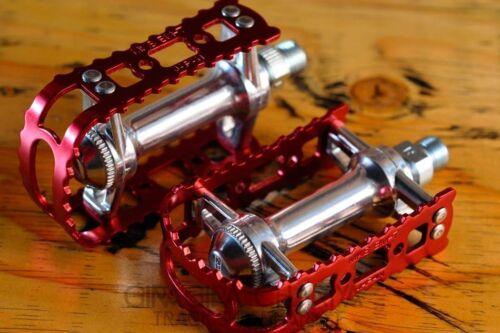 "MKS BM-7 Pedals Track Bike 80/'s BMX 9//16/"" 1//2/"" Various Colors"