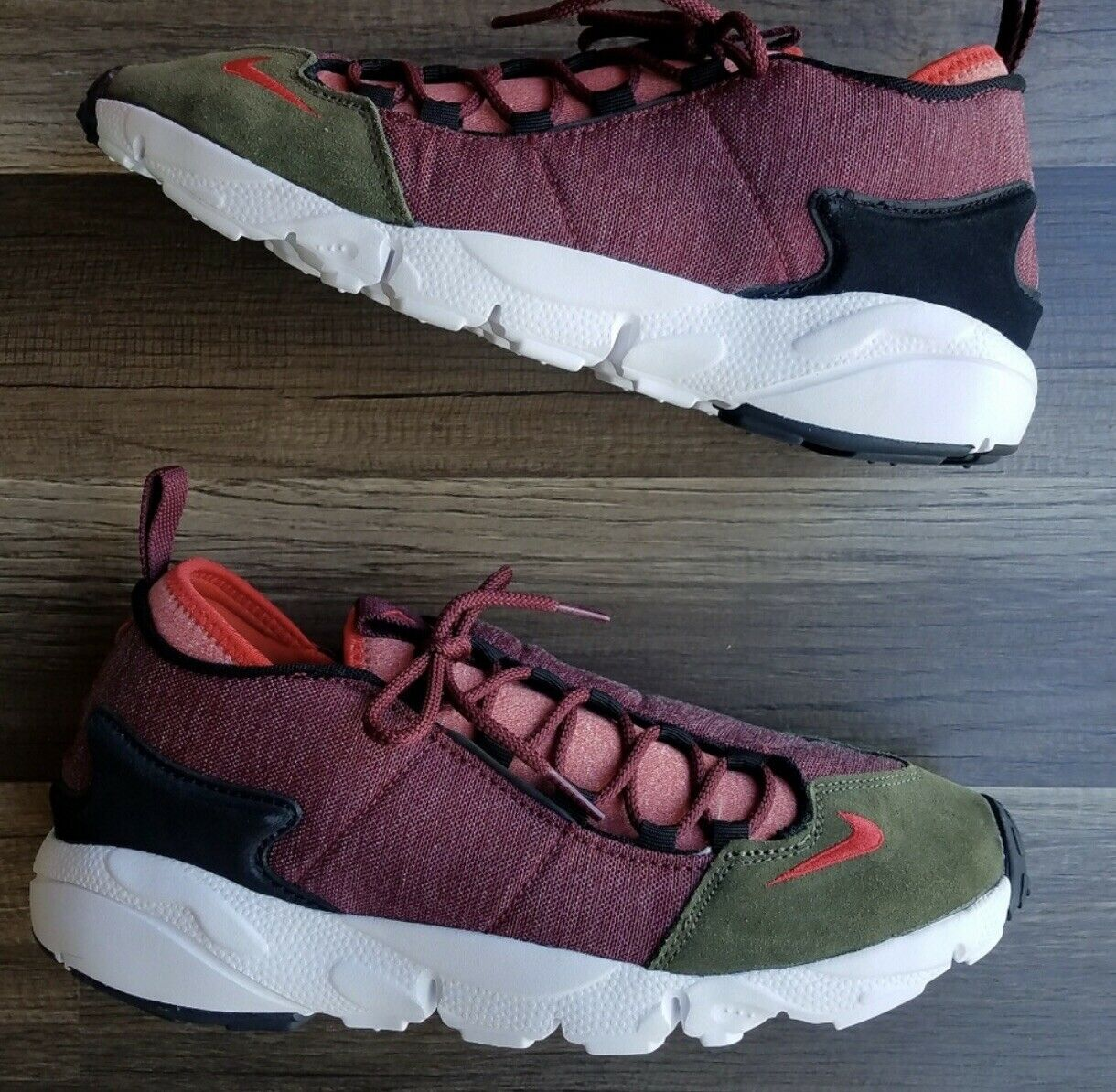 more photos 26f17 ca5ae Nike Air Footscape Footscape Footscape NM in Dragon Red 50d81d