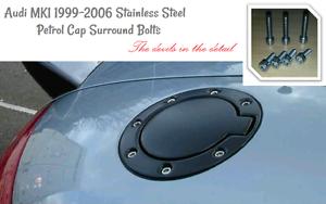 Audi-TT-mk1-Typ-8-Petrol-Fuel-Flap-Cap-Bolts-Screws-Stainless-Steel-180PS-225PS