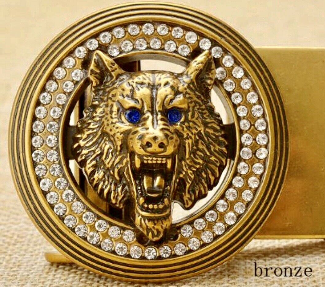 MENS DESIGNER BELT BUCKLES FOR 35 MM LEATHER BELTS AUTOMATIC DIAMOND BUCKLE ONLY