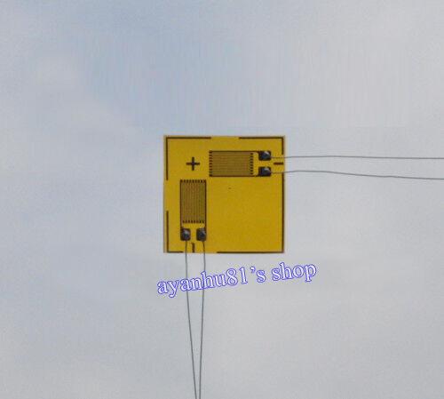 2pcs 120ohm 120Ω Foil Resistance Strain Gauge for Stress Test / Stress Analysis