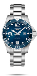 LONGINES HYDROCONQUEST CERAMIC BLUE DIAL 41MM AUTOMATIC DIVING WATCH