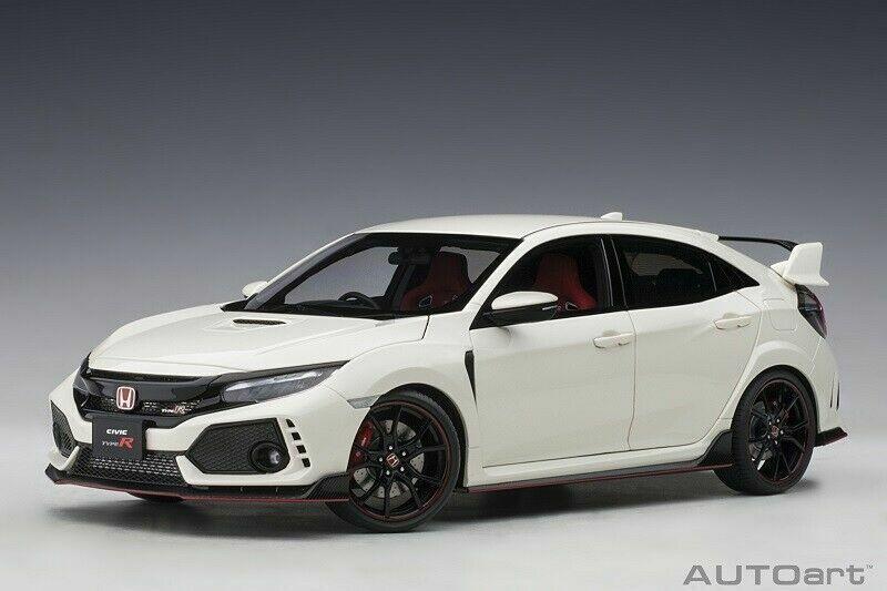 1 18 Carart 73266  Honda Civic Type R (FK 8) (championship Weiß) 2017