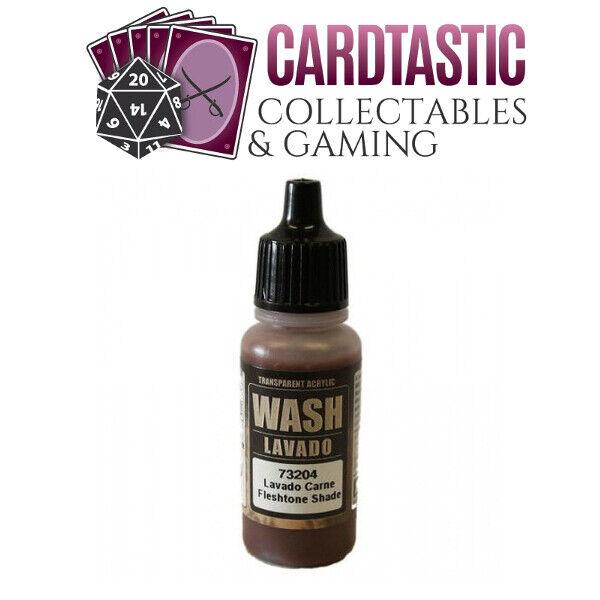 Vallejo Game Wash Paint 17mL Flesh Wash 73.204