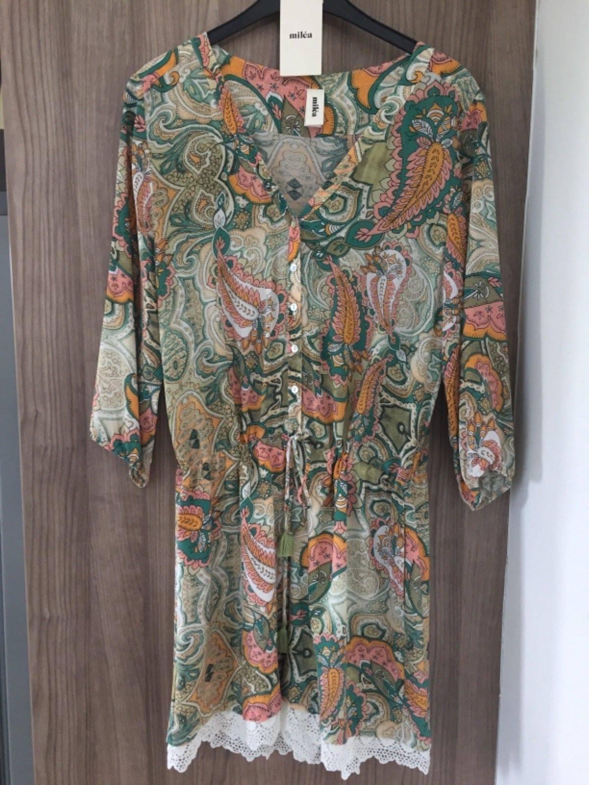 MILEA. All silk jumpsuit NWT  300.00