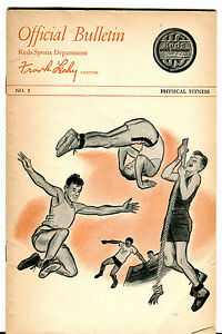 Vintage-Keds-Sports-Official-Bulletin-By-Frank-Leahy-Physical-Fitness-jhcc