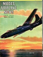 Model Airplane News Magazine July 1947 Martin XP4M-1 ACC 040717nonjhe