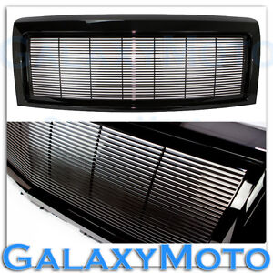 09-14-Ford-F150-Gloss-Black-Billet-Grille-Complete-Replacement-Shell-FX-STX-XLT