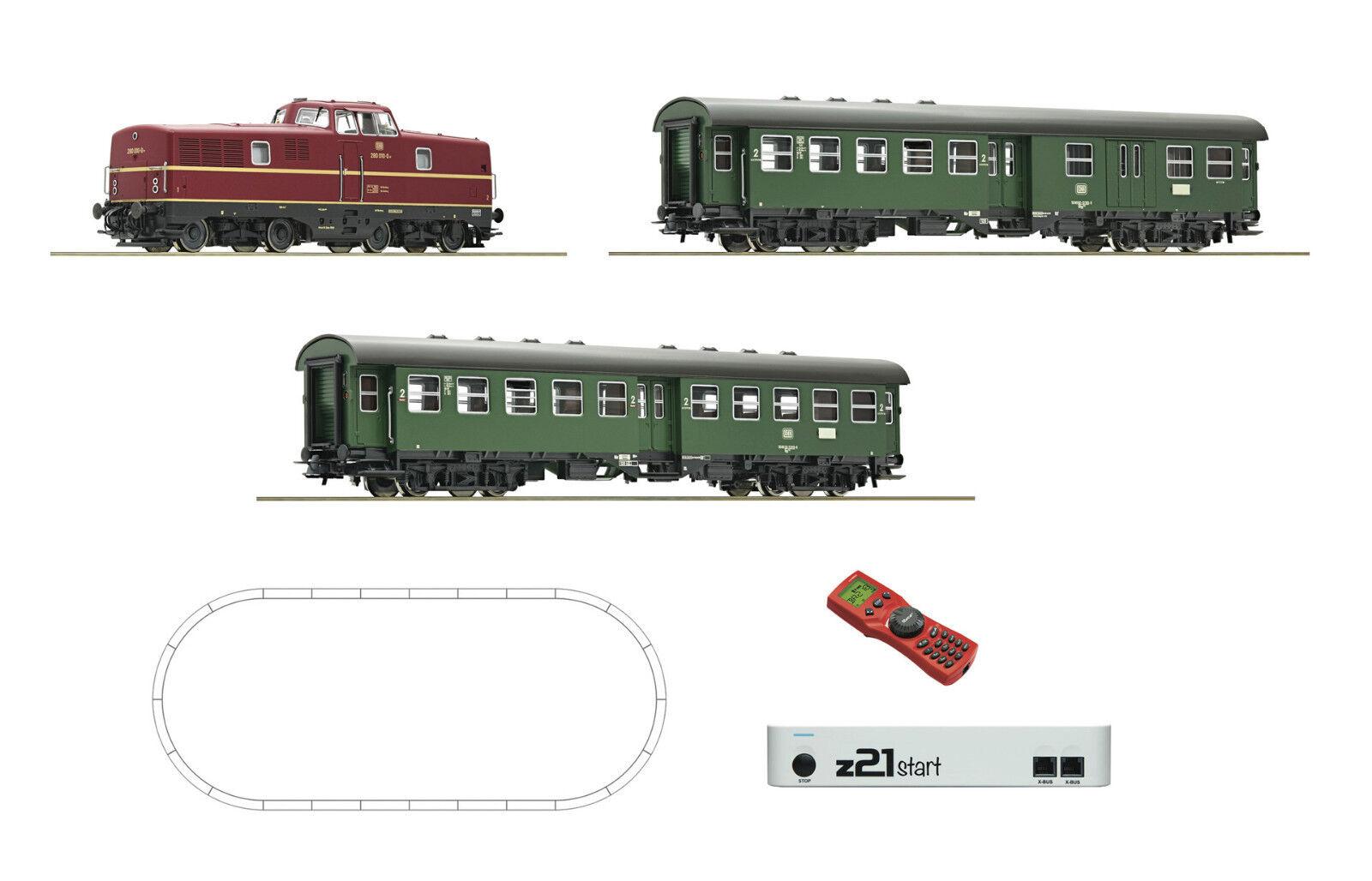 ROCO 51295 Digital Startset BR 280 Personenzug z21 Multimaus Ep IV NEU OVP