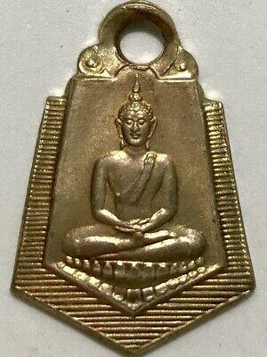 PHRA KHUNPAN BAANKRANG CHARM LP RARE OLD THAI BUDDHA AMULET PENDANT MAGIC IDOL10