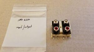 NAD 6325 input output connectors