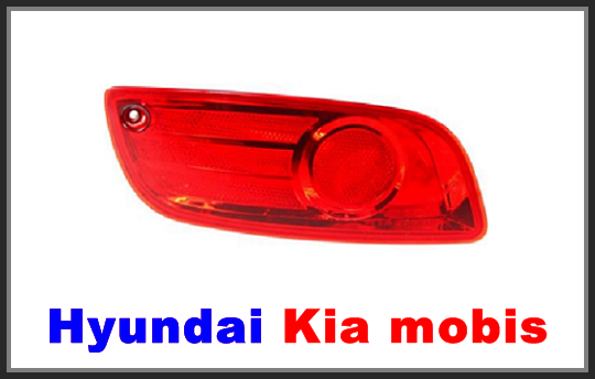 Bumper Reflector for Hyundai Santa Fe 07-09 Rear RH and LH