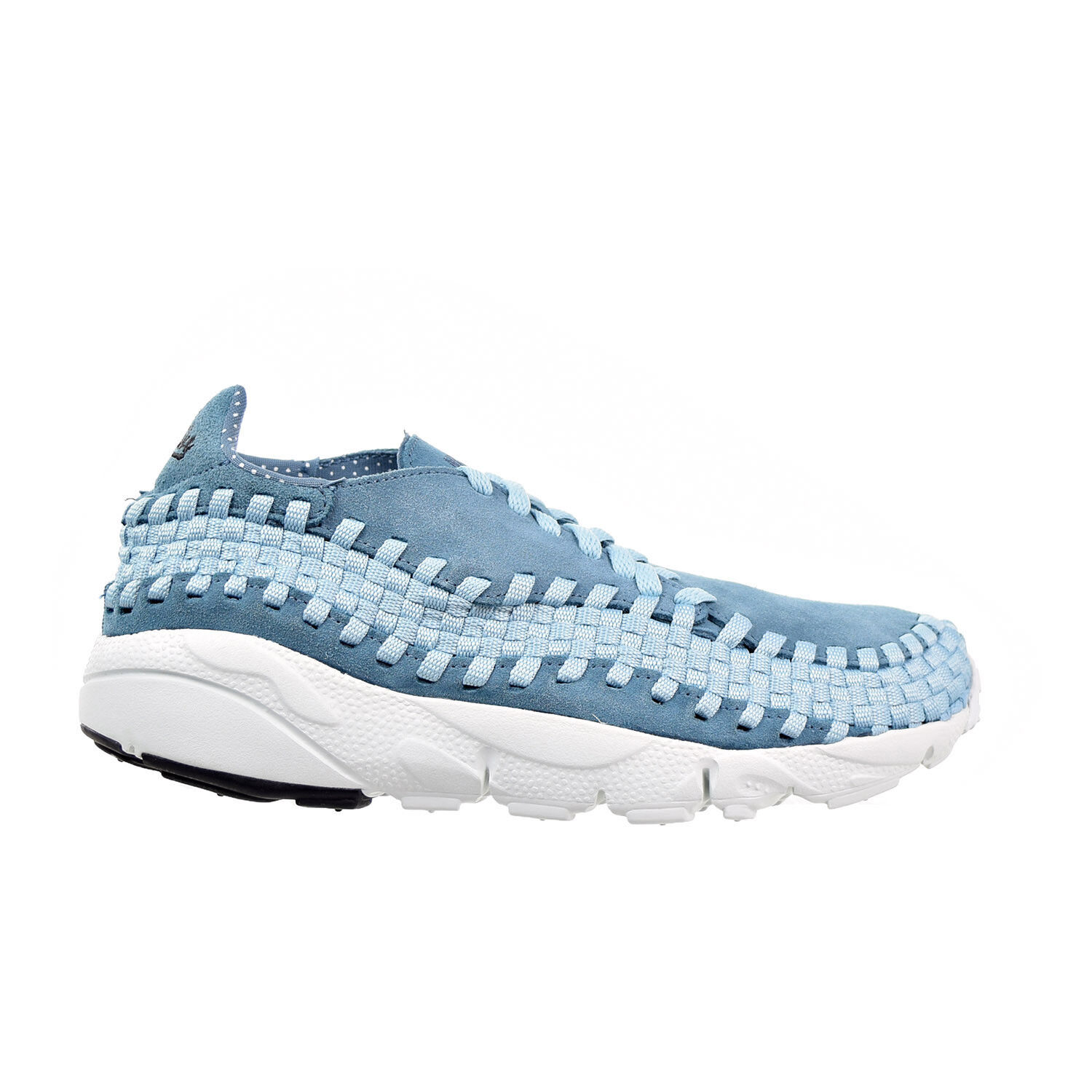 Nike air footscape tessuti nm uomini scarpa blu / bianco 875797-002 smokey