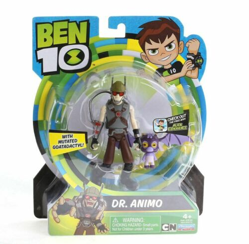Ben 10 Dr ANIMO Action Figure with Mutated Goatadactyl Playmates Toys Brand New