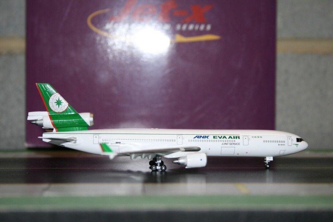 Jet-x 1 400 Eva Air McDonnell Douglas MD-11 B-16101 (JXM115) Modelo De Fundición