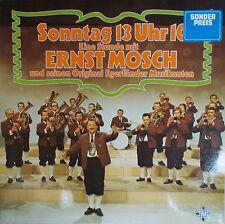 2 LP Sonntag 13 Uhr 10 - Eine Stunde mit ERNST MOSCH,VG++,gewaschen,Telefunken