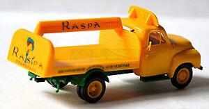 Opel-Blitz-Plataforma-1952-60-RASPA-Naranjada-1-87-Brekina