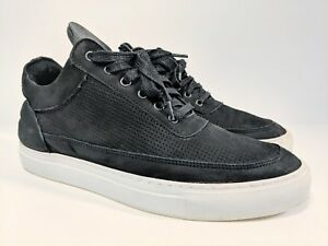 Filling-Pieces-Lowtop-Perforated-Black-Size-41-8-5