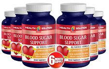 Blood Sugar Monitor - Dietary Supplement. Cardiovascular Health(6 Bottles)
