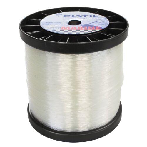 0,10 €//M 00mm in desire length Platil Marine Salt Water Fishing Line Clear 0,50mm-1
