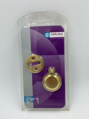 Carlisle Laiton Poli écusson Victorian Key Cover M4142//BP