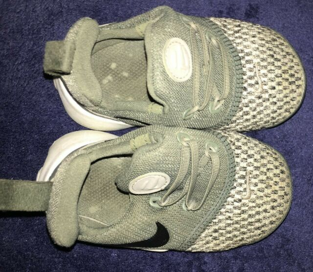 Nike , olive green/grey, baby boy shoes, size 5c - pre ...