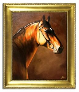 Oil-Painting-Pictures-Hand-Painted-with-Frame-Baroque-Art-G04457