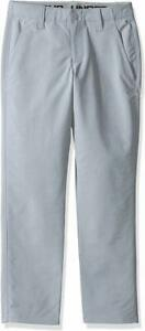 Under-Armour-Boys-Match-Play-Chino-Pants-Steel-Size-8-New