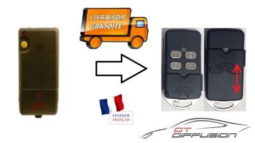 TELECOMMANDE UNIVERSELLE CLONE COPIE bft te01 tx jaune portail porte de garage
