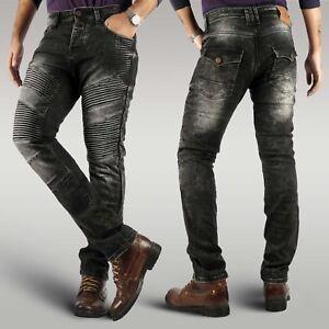 Mens-new-biker-motorcycle-reinforced-denim-jeans-aramid-lining-free-protectors