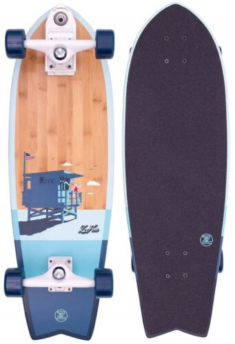Z-Flex Complete Skateboard Bamboo Surfskate Fish