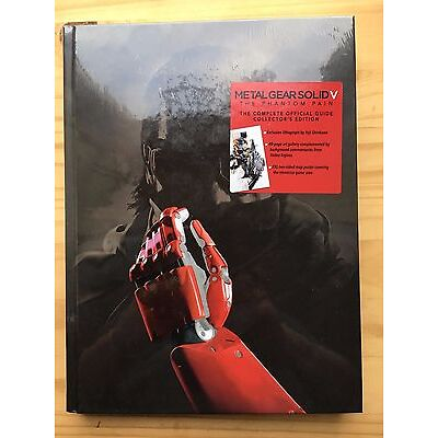 Metal Gear Solid V: The Phantom Pain - Collector's Hardcover guide
