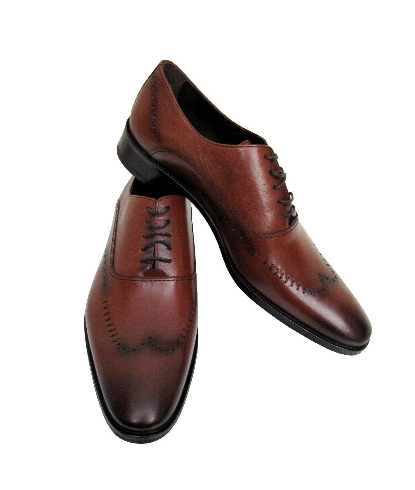 Herren Leder Schuhe Muga Gr.39 Hellbraun      Elegant und feierlich
