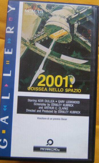 VHS=2001: odissea nello Spazio (1968) VHS=PANARECORD