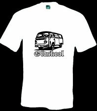 VW camper van T SHIRT T2 early bay window dub old bus westfalia Surf aircooled