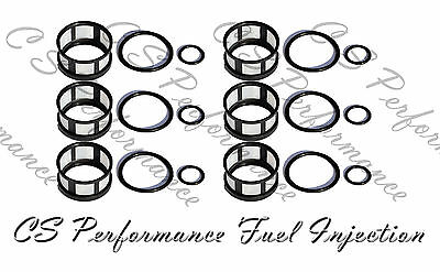 Fuel Injector Seal Kit Filters Viton Orings for  96-04 Nissan 3.3  CSKJE46