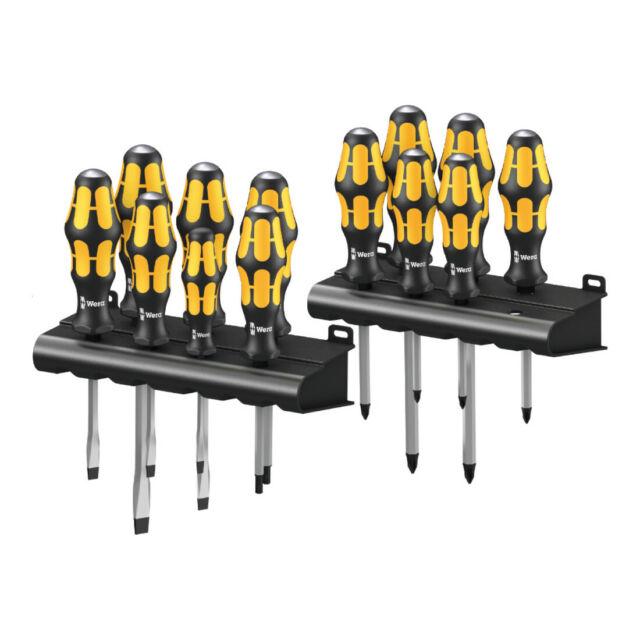 Wera Big Pack 900 Schraubendrehersatz Kraftform Wera: Der Schraubmeißel + Rack