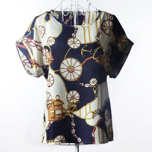 Fashion Women Casual Short Sleeve T-shirt Chiffon Tank Tops Vest Blouse Shirts