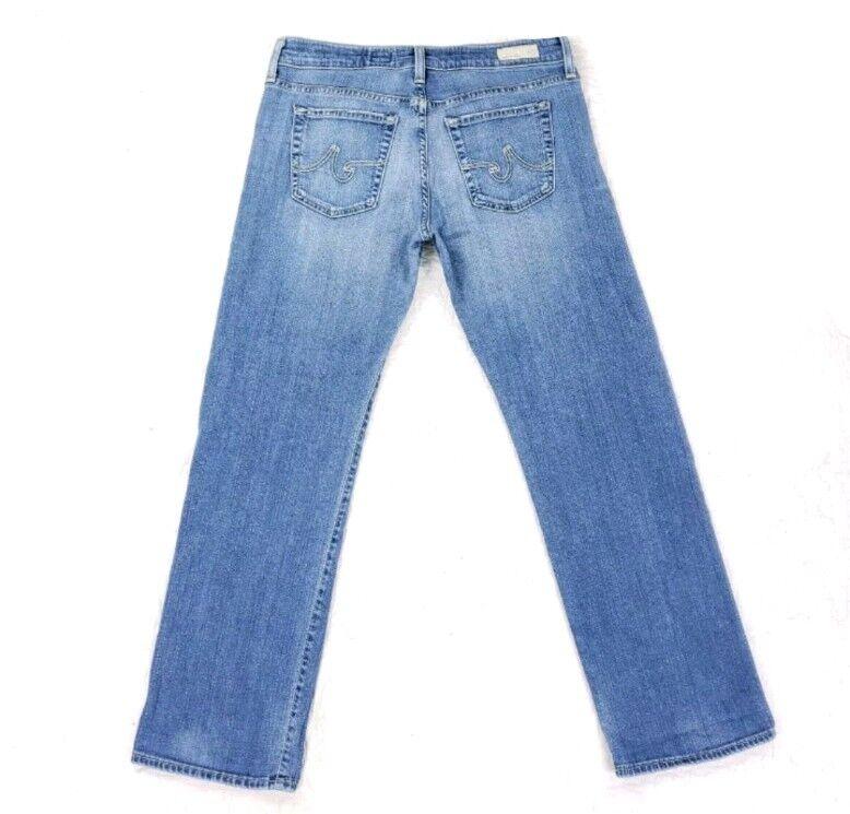 Adriano goldschmied Simona Easy Straight Leg Jeans Size 28R Measure 30x29