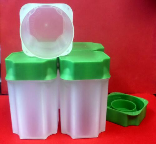 5 Green top Guard House SILVER EAGLE Coin Tubes Unbreakable